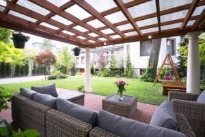 Deck and arbor Contractor Colorado Living Spaces Denver