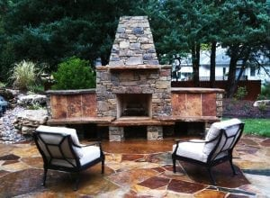 patio installation by colorado living spaces
