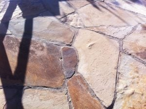 Flagstone Patio Installation Colorado Living Spaces Denver